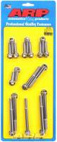 Engine Hardware and Fasteners - Timing Cover Bolts - ARP - ARP Pontiac Stainless Steel Timing Cover Bolt Kit - 6 Point