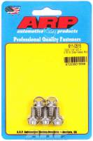 "Stainless Steel Bolts - 1/4""-20 Stainless Steel Bolts - ARP - ARP Stainless Steel Bolt Kit - 12 Point (5) 1/4-20 x .515"