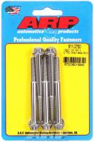 "Stainless Steel Bolts - 1/4""-20 Stainless Steel Bolts - ARP - ARP Stainless Steel Bolt Kit - 12 Point (5) 1/4-20 x 2.750"