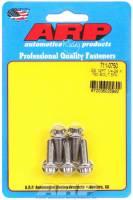 "Stainless Steel Bolts - 1/4""-28 Stainless Steel Bolts - ARP - ARP Stainless Steel Bolt Kit - 12 Point (5) 1/4-28 x .750"
