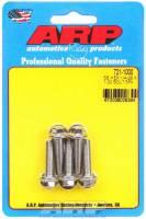 "Stainless Steel Bolts - 1/4""-28 Stainless Steel Bolts - ARP - ARP Stainless Steel Bolt Kit - 6 Point (5) 1/4-28 x 1.000"