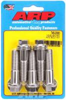 "Stainless Steel Bolts - 1/2""-20 Stainless Steel Bolts - ARP - ARP Stainless Steel Bolt Kit - 6 Point (5) 1/2-20 x 2.000"