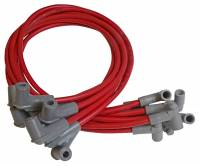 Chevrolet C10 Ignitions and Electrical - Chevrolet C10 Spark Plug Wires - MSD - MSD Super Conductor 8.5mm Spark Plug Wire Set - Red