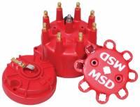 Distributors Parts & Accessories - Distributor Cap & Rotor Kits - MSD - MSD Distributor Cap and Rotor Kit - Includes Distributor Cap (8431)