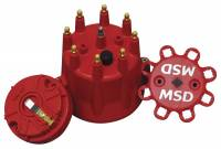 Chevrolet Chevelle Ignitions and Electrical - Chevrolet Chevelle Distributor Cap and Rotor Kits - MSD - MSD Distributor Cap and Rotor Kit - Includes Distributor Cap (8433)