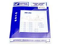 Books, Video & Software - TCI Automotive - TCI 700R4 Transmission Tech Manual ' 87-' 93