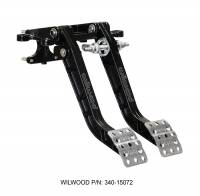 Pedal Assemblies  and Components - Brake / Clutch Pedal Assemblies - Wilwood Engineering - Wilwood Swing Mount Tru-Bar Brake and Clutch Pedal