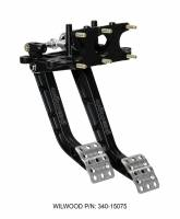 Pedal Assemblies  and Components - Brake / Clutch Pedal Assemblies - Wilwood Engineering - Wilwood Reverse Swing Mount Tru-Bar Brake and Clutch Pedal - 6.25:1 Brake - 5:1 Clutch