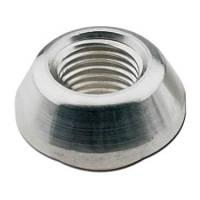 Steel Weld-In Fittings - Female NPT Steel Weld-In Fittings - Fragola Performance Systems - Fragola 1/4 NPT Steel Weld-in Bung x .750in