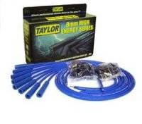 Ignition & Electrical System - Spark Plug Wires - Taylor 8mm High Energy Spark Plug Wire Sets