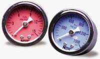 Carburetor Accessories - Fuel Line Pressure Gauges - Nitrous Oxide Systems (NOS) - NOS Fuel Pressure Gauge - 1.5 in. Diameter