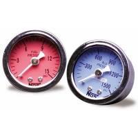 NOS - Nitrous Oxide Systems - NOS Fuel Pressure Gauge - 1.5 in. Diameter - Image 2