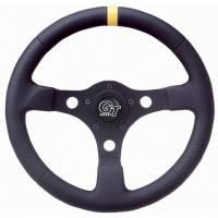 """Street Performance / Tuner Steering Wheels - Grant GT Steering Wheels - Grant Steering Wheels - Grant Pro Stock Steering Wheel - 13"""" - Black"""
