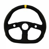 """Street Performance / Tuner Steering Wheels - Grant GT Steering Wheels - Grant Steering Wheels - Grant Performance GT D - Shaped Steering Wheel - 13 3/4"""" - Black"""