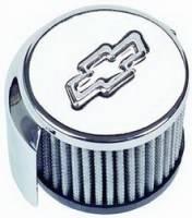 Crankcase Breathers - Breathers - Proform Performance Parts - Proform Oil Breather Cap - Bow Tie Emblem - Push-In