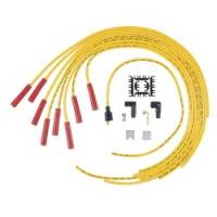 Spark Plug Wires - ACCEL SuperStock Spiral Core 5000 Series Spark Plug Wire Sets - Accel - ACCEL Universal Fit Super Stock 8mm Spiral Spark Plug Wire Set - Yellow