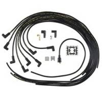 Spark Plug Wires - ACCEL SuperStock Spiral Core 5000 Series Spark Plug Wire Sets - Accel - ACCEL Universal Fit Super Stock 8mm Spiral Spark Plug Wire Set - Black