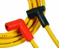 Spark Plug Wires - ACCEL SuperStock Spiral Core 5000 Series Spark Plug Wire Sets - Accel - ACCEL Super Stock Spiral Spark Plug Wire Set - Custom Fit - 8mm - Spiral Core - Yellow