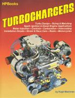 Books, Video & Software - Air & Fuel Delivery Books - HP Books - Turbocharger Handbook