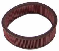 "Air Filter Elements - OE Air Filter Elements - K&N Filters - K&N Performance Air Filter - 12-1/2""x- 3-1/2"" - Mopar 1960-79"