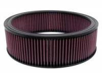 "Air Filter Elements - OE Air Filter Elements - K&N Filters - K&N Performance Air Filter - 13-3/4"" x 4-1/32"" - GM 1978-96"