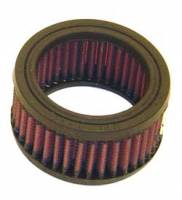 "Air Filter Elements - 4"" Air Filters - K&N Filters - K&N Performance Air Filter - 3-7/8"" x 2"" - Universal"