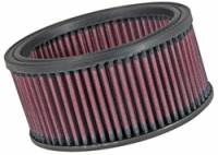 "Universal Round Air Filters - 6"" Round Air Filters - K&N Filters - K&N Performance Air Filter - 6-1/4"" x 3"" - Universal"