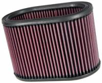 "Air Filter Elements - Oval Air Filters - K&N Filters - K&N Performance Air Filter - Oval - 8-7/8 x 5-1/4"" x 6"" - Universal"