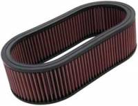 "Air Filter Elements - Universal Oval Air Filters - K&N Filters - K&N Performance Air Filter - Oval - 14-5/8 x 7-3/4"" x 4"" - Universal"