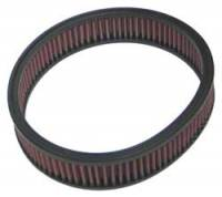 """Universal Round Air Filters - 9"""" Round Air Filters - K&N Filters - K&N Performance Air Filter - 9"""" x 2"""" - Universal"""