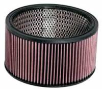 """Universal Round Air Filters - 9"""" Round Air Filters - K&N Filters - K&N Performance Air Filter - 9"""" x 5"""" - Universal"""