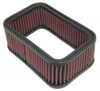 "Air Filter Elements - Oval Air Filters - K&N Filters - K&N Performance Air Filter - 6-3/4 x 4-1/2"" x 2-1/2"" - Universal"