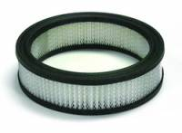 "Universal Round Air Filters - 6"" Round Air Filters - Mr. Gasket - Mr. Gasket Air Filter Element - 6.5 x 2 in."