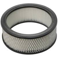 "Universal Round Air Filters - 6"" Round Air Filters - Trans-Dapt Performance - Trans-Dapt High Flow Paper Air Filter Element - 6 3/8 in. x 2.5 in."