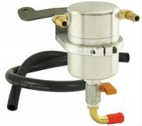 Street Performance USA - Moroso Performance Products - Moroso Air/Oil Separator - 05-Up Mustang