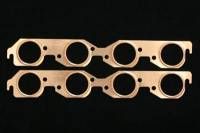 Exhaust System - SCE Gaskets - SCE BB Chevy Round Port Copper Exhaust Gasket Set