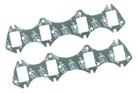 Header Gaskets - BB Ford / FE Header Gaskets - Mr. Gasket - Mr. Gasket Ultra Seal Exhaust Gasket Set - Port Dimensions: Width: 1.56 in. x Height: 2.32 in.
