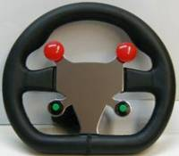 Biondo Racing - Biondo Black Leather Steering Wheel