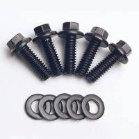 Accessory Bolts and Studs - Black Oxide Bolts - ARP - ARP Bolt Kit - 6 Point (5) 1/4-20 x .750
