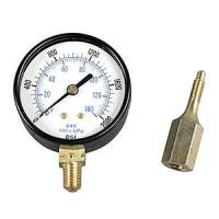 Brake Fluid Controls - Brake Pressure Check Gauges - Strange Engineering - Strange Engineering Brake Pressure Test Gauge