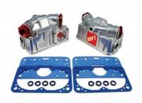 Carburetor Service Parts - Carburetor Fuel Bowls - Quick Fuel Technology - Quick Fuel Technology Fuel Bowl Conversion Kit - Four BBL Dual Accelerator Pump