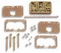 Carburetor Service Parts - Carburetor Metering Blocks - Holley Performance Products - Holley Metering Block - Standard Finish
