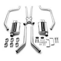 Pontiac Firebird (1st Gen) Exhaust - Pontiac Firebird (1st Gen) Exhaust Systems - Magnaflow Performance Exhaust - Magnaflow Stainless Steel Cat-Back Performance Exhaust System - 4 x 9 x 14 in. Muffler