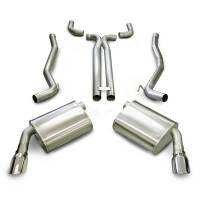 Exhaust System - Corsa Performance - Corsa Sport Cat-Back Exhaust System - Dual Rear Exit