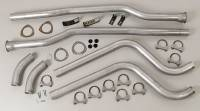 Chevrolet Corvette Exhaust - Chevrolet Corvette Exhaust Systems - Hooker Headers - Hooker Headers Dual Competition Header Back Exhaust System Kit -