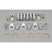 "Exhaust System - Stage 8 Locking Fasteners - Stage 8 Collector Bolt Kit - 6pt 3/8-16 x 1"" (6)"