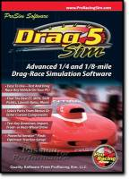 Books, Video & Software - Comp Cams - COMP Cams Software - Drag Sim 5