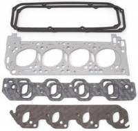 Cylinder Head Gaskets - Cylinder Head Gaskets - Ford Boss 302 / 351C / 351M / 400 - Edelbrock - Edelbrock Cylinder Head Gasket Set - Includes Intake, Exhaust, Head, Waterneck, Distributor, Valve Cover Gaskets