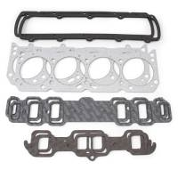 Cylinder Head Gaskets - Cylinder Head Gaskets - Oldsmobile - Edelbrock - Edelbrock Cylinder Head Gasket Set - Includes Intake, Exhaust, Head, Waterneck, Distributor, Valve Cover Gaskets