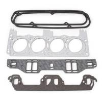 Cylinder Head Gaskets - Cylinder Head Gaskets - SB Chrysler - Edelbrock - Edelbrock Cylinder Head Gasket Set - Includes Intake, Exhaust, Head, Waterneck, Distributor, Valve Cover Gaskets